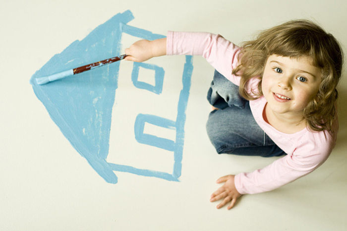 как прописать ребенка с отцом